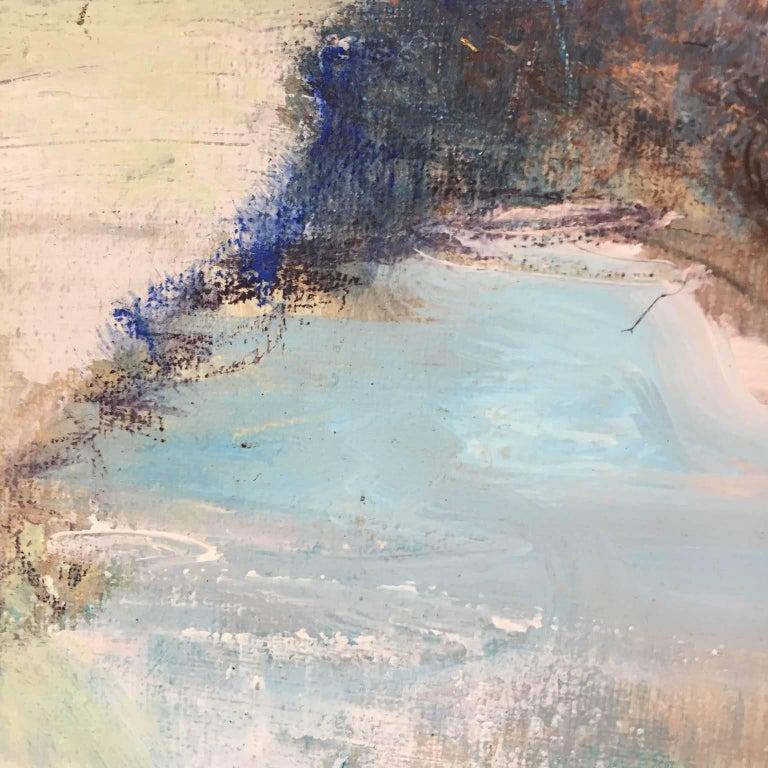 Distant Horizons 2, original art , seascape , colourful art  1
