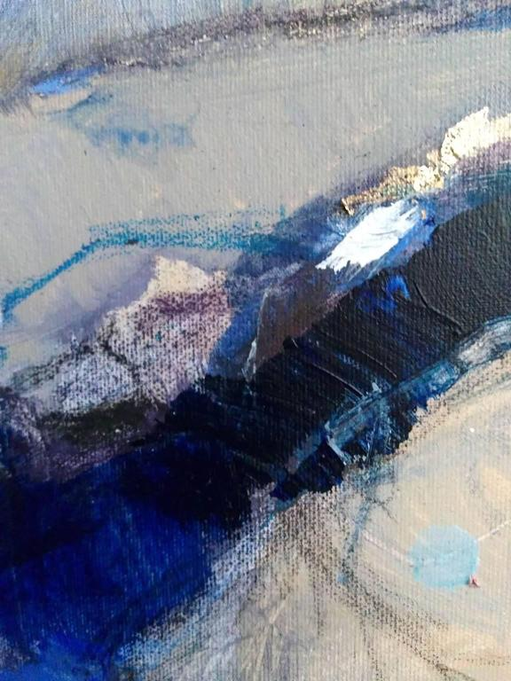 Interlude 3 - Abstract Expressionist Painting by Magdalena Morey