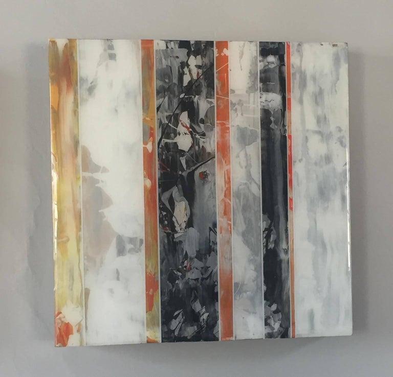 EQ redefined series 1700-EU101-5 - Painting by ANDRZEJ MICHAEL KARWACKI