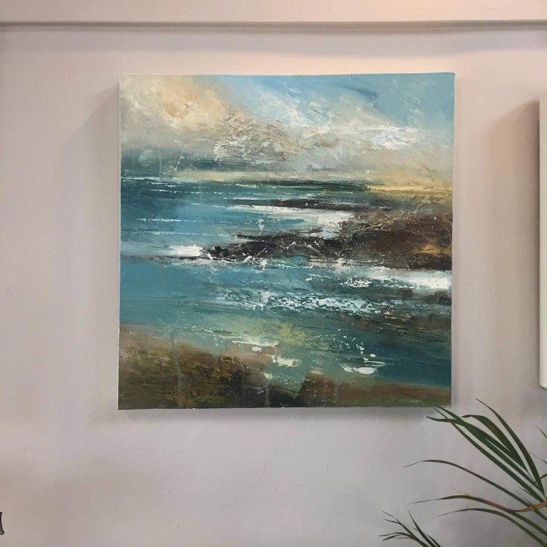 Cove 3, Seascape Oil Painting For Sale 2
