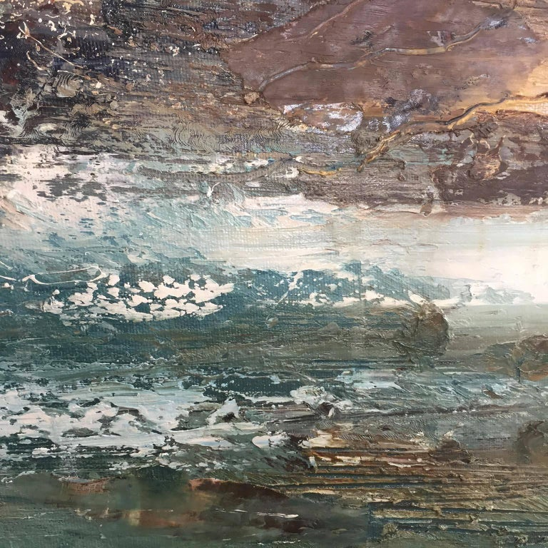 Cove 3, Seascape Oil Painting For Sale 4