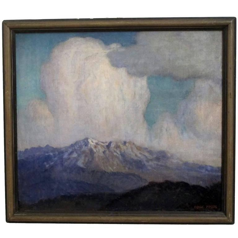 Frank Myers Mountain Landscape Painting By Frank Myers