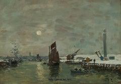 Dunkerque, Effet de Neige sur le Port