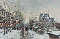 Winter in Paris, Notre Dame