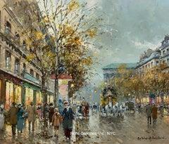 Boulevard de la Madeleine - a view in Paris