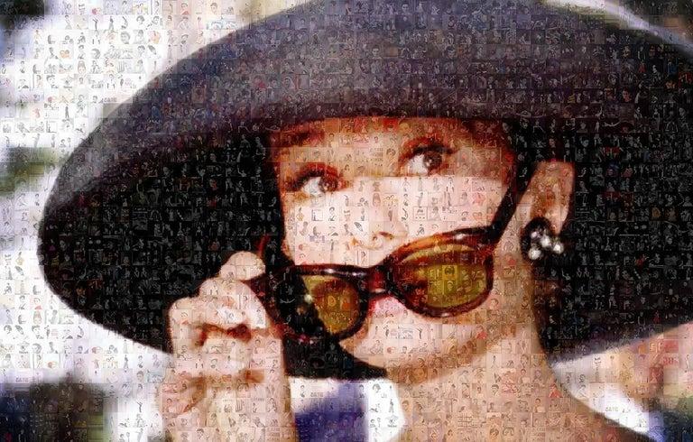 Robin Austin Color Photograph - Incognito. Audrey Hepburn