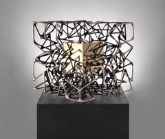 "Monumental Outdoor Kinetic Bronze Sculpture ""Cubo con Cubo"", Gianfranco Meggiato"