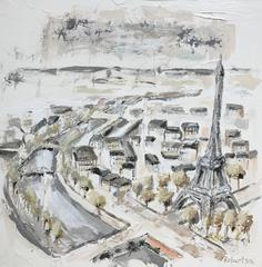 Paris on the River Seine