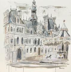 Palace de Hotel de Ville/Paris, France
