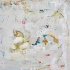 'Run Away With Me', Mixed Media on Gesso Abstract Painting