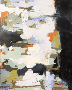 """""""Come Home"""" Large Vertical or Horizontal Abstract Painting"""