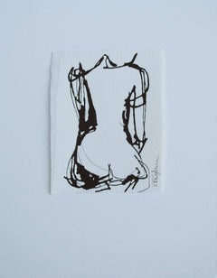 Ink #8, Petite Ink on Paper Nude