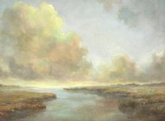 I Can See Forever, Horizontal Post-Impressionist Landscape Painting