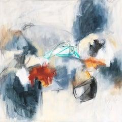 Marais, Augusta Wilson 2018 Large Abstract Mixed Media on Canvas Painting