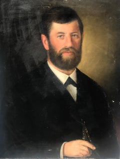 Captain Smith by Unknown in Early Twentieth Century Vertical Portrait Painting