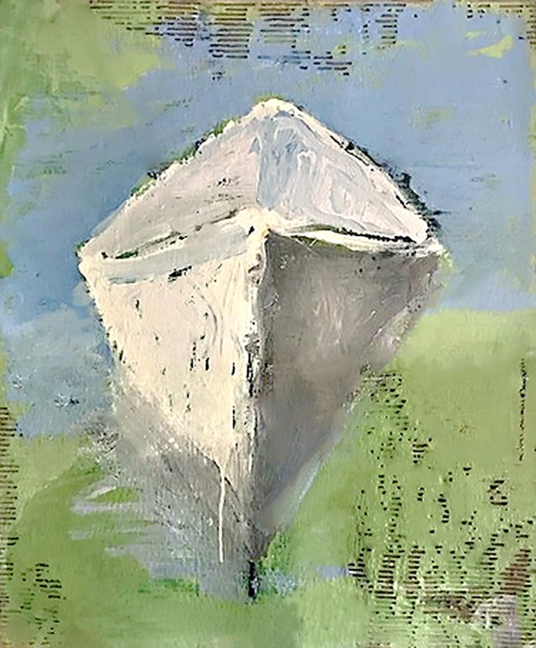 You Are The Reason by Carylon Killebrew 2018 Vertical Framed Canoe Painting