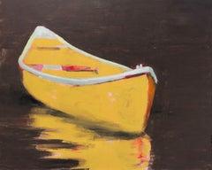 Until Somebody Blinks by Carylon Killebrew 2018 Large Horizontal Boat Painting