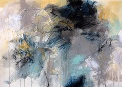 Bayside II, Debora Stewart 2018 Mixed Media on Paper Abstract Painting