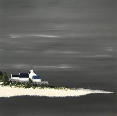 Pleasing Light, Susan Kinsella 2018 Contemporary Square Coastal Painting