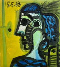Cubist Abstract Paintings