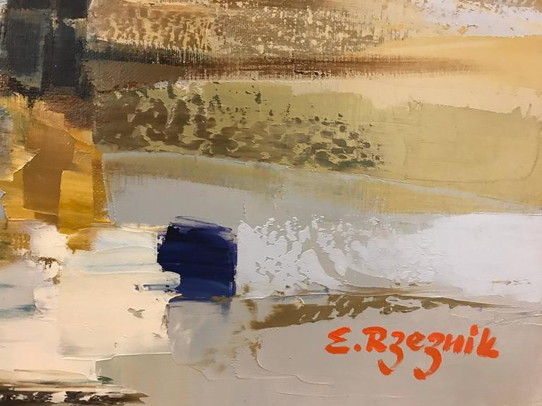 Follow Me - Painting by Ewa Rzeznik