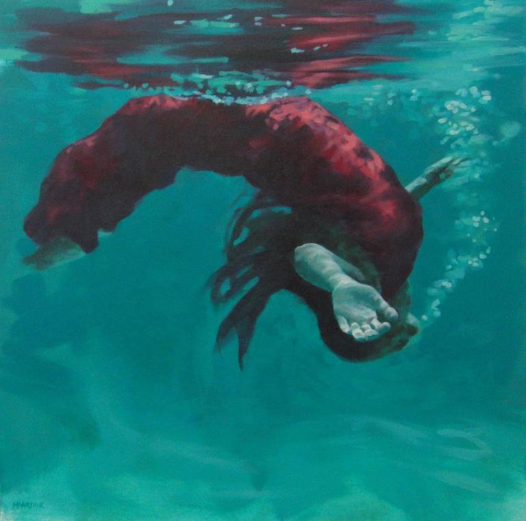 Siren by Patsy McArthur - oil on canvas
