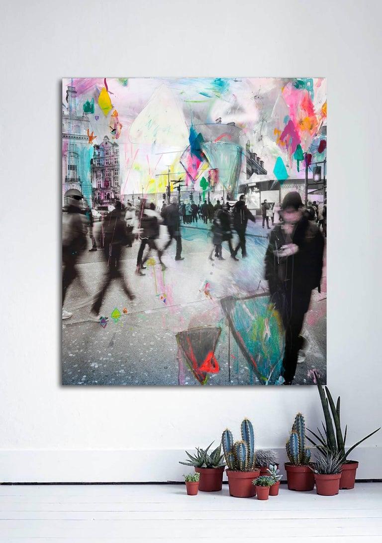 Memorandum - v. 1 by Alberto Sanchez -mixed media photography - contemporary art For Sale 1