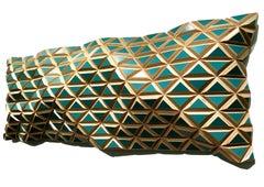 The Chameleon Effect - Flexible Rigids - sculptural wall, parametric design