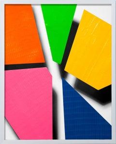 Color Studies (Tape Cuts) 37