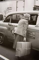 New York, (Woman/Taxi)