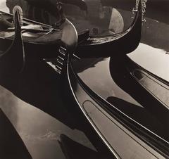 Brett Weston - Gondolas, Venice Italy