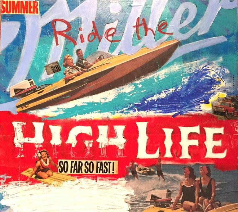 Ride High Life - Mixed Media Art by David Morico