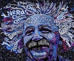 Einstein - Part of Candy Collage Series