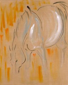 Field Horse I, Grazing