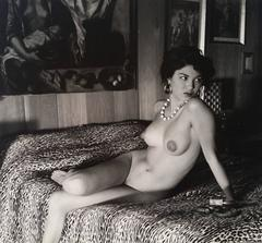 Andre de Dienes - Nude on the Bed