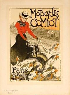 """Comiot Motorcycles from """"Les Maitres de l'Affiche"""""""