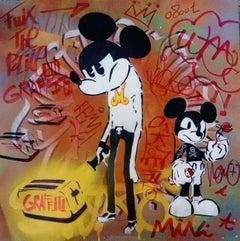 Light graffiti and Mickey