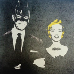 Marilyn loves Batman