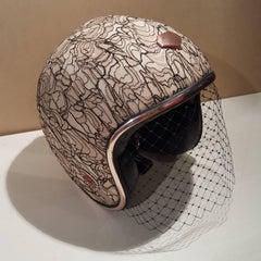 Christian Dior Ruby helmet