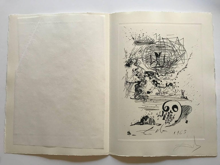 Study for a 2nd Dream - Print by Salvador Dalí