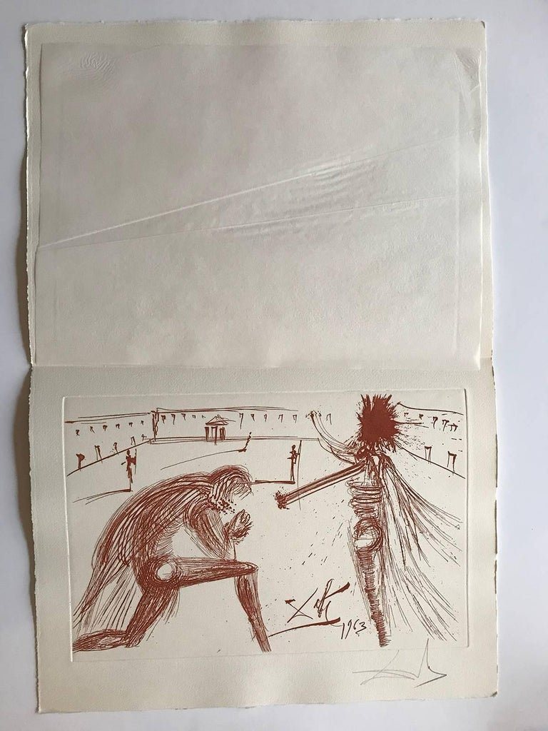 The forgiveness of Father RS - Print by Salvador Dalí