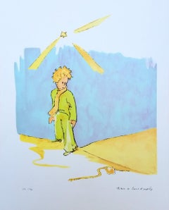 The Little Prince and the snake L