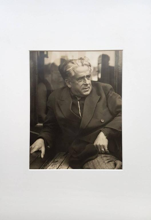 Portrait of Picabia - Photograph by Man Ray