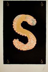 """Letter """"S"""" - suite Alphabet"""