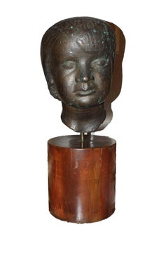 Head of Young Boy