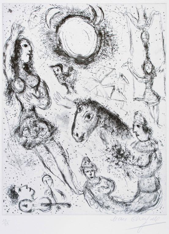Marc Chagall - Les Danseurs à la Lune 1