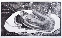 She is Haunted by a Spirit (Manu Tupapau)