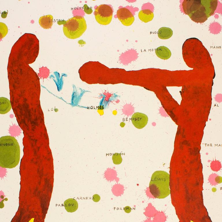 Boxers, Olympic Games Beijing 2008 - Print by Giuseppe Gallo