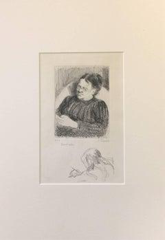 Grand'mère - Portrait de la femme de l'artiste