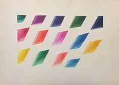 Untitled - Original Etching by Piero Dorazio - 1980